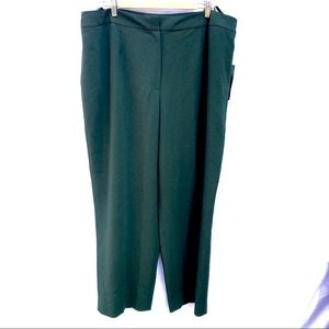 NWT Jones New York 22W olive green dress pants